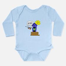 Outhouse Long Sleeve Infant Bodysuit