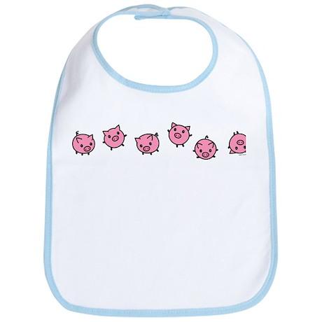 Playful Pigs Bib
