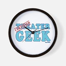 Theater Geek Wall Clock