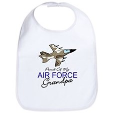 Air Force Grandpa Bib