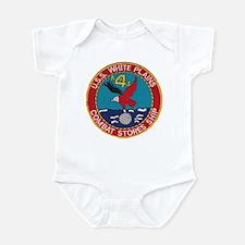 USS WHITE PLAINS Infant Bodysuit