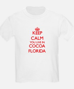 Keep calm you live in Cocoa Florida T-Shirt