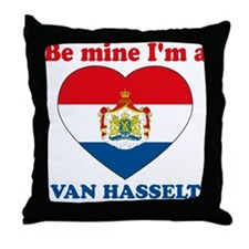 Van Hasselt, Valentine's Day Throw Pillow