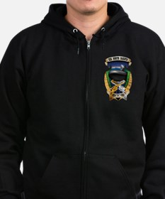 USS North Dakota SSN-784 Zip Hoodie
