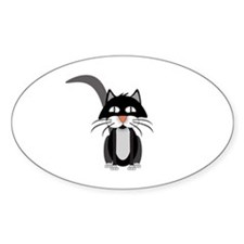 Cute Cartoon Cat Decal