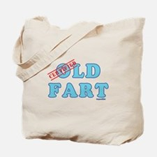 Certified Old Fart Tote Bag