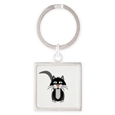 Cute Cartoon Cat Keychains
