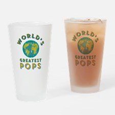 World's Greatest Pops Drinking Glass