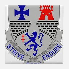 112th Infantry Regiment.png Tile Coaster