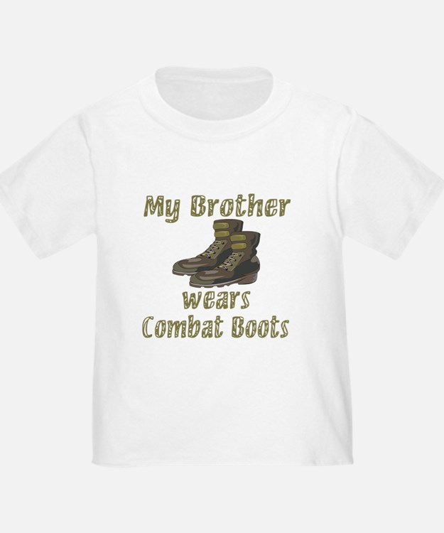 My Brother Wears Combat Boots T