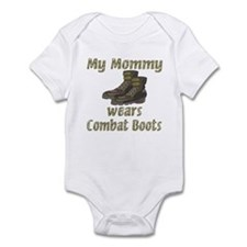 My Mommy Wears Combat Boots Infant Bodysuit
