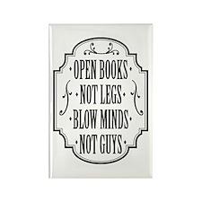 Open Books Not Legs Magnets