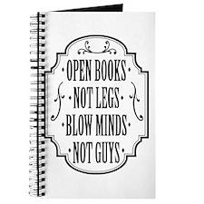 Open Books Not Legs Journal