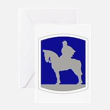 116th Infantry Brigade Combat Team Greeting Cards
