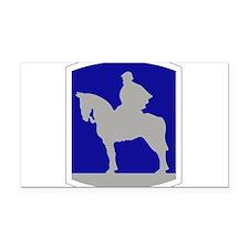 116th Infantry Brigade Combat Rectangle Car Magnet