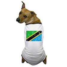 Vintage Tanzania Dog T-Shirt