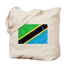 Vintage Tanzania Tote Bag