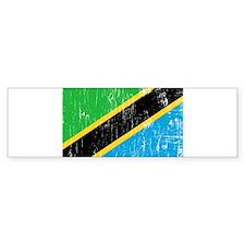 Vintage Tanzania Bumper Bumper Sticker
