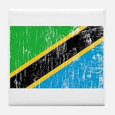 Vintage Tanzania Tile Coaster