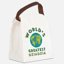 World's Greatest Dziadzia Canvas Lunch Bag