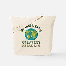 World's Greatest Dziadziu Tote Bag