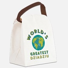 World's Greatest Dziadziu Canvas Lunch Bag