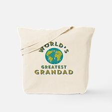 World's Greatest Grandad Tote Bag