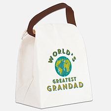World's Greatest Grandad Canvas Lunch Bag
