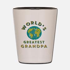 World's Greatest Grandpa Shot Glass