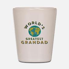 World's Greatest Grandad Shot Glass