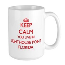 Keep calm you live in Lighthouse Point  Mug