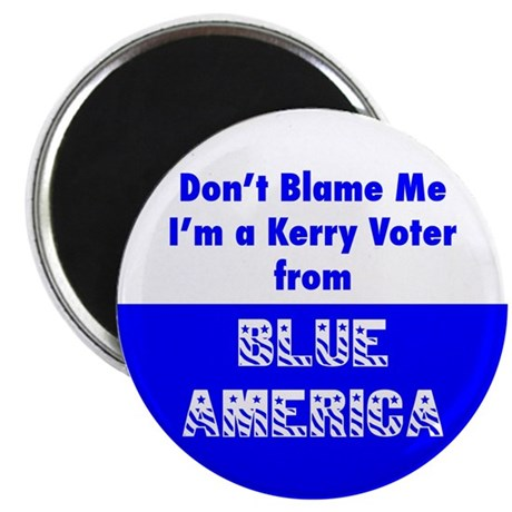 Kerry Voter from Blue America Magnet (10 pk)