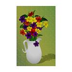 Colorful Floral Still Mini Poster