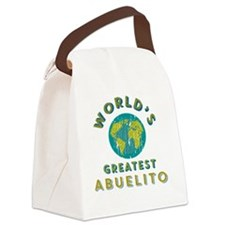 World's Greatest Abuelito Canvas Lunch Bag