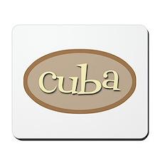 Cuba Natural Mousepad