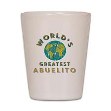 World's Greatest Abuelito Shot Glass