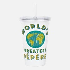 World's Greatest Pépèr Acrylic Double-wall Tumbler