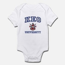 KEO University Infant Bodysuit