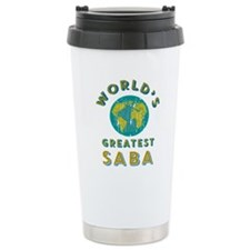 World's Greatest Saba Travel Mug