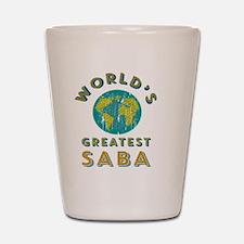 World's Greatest Saba Shot Glass
