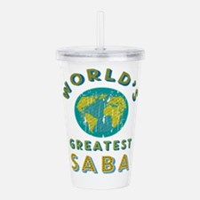 World's Greatest Saba Acrylic Double-wall Tumbler
