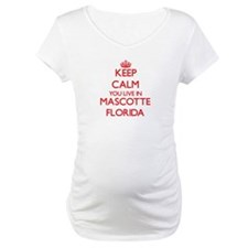 Keep calm you live in Mascotte F Shirt