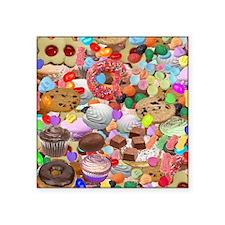 """Sweet Treats Square Sticker 3"""" x 3"""""""