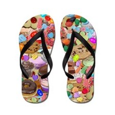 Sweet Treats Flip Flops