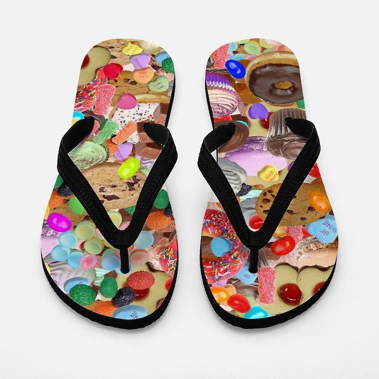 Sweet Treats Flip Flops