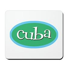 Cuba Ocean Mousepad
