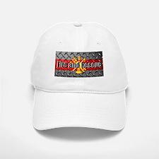 Fire and Rescue Baseball Baseball Baseball Cap