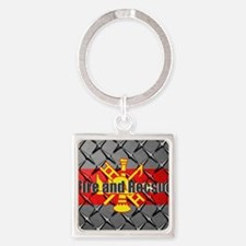 Fire and Rescue Keychains