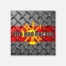 Fire and Rescue Sticker