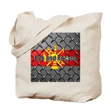 Fire and Rescue Tote Bag